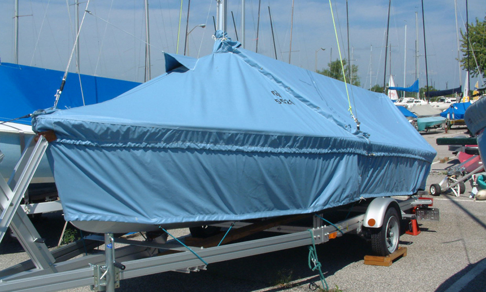 Flying Scot Sailboat Covers