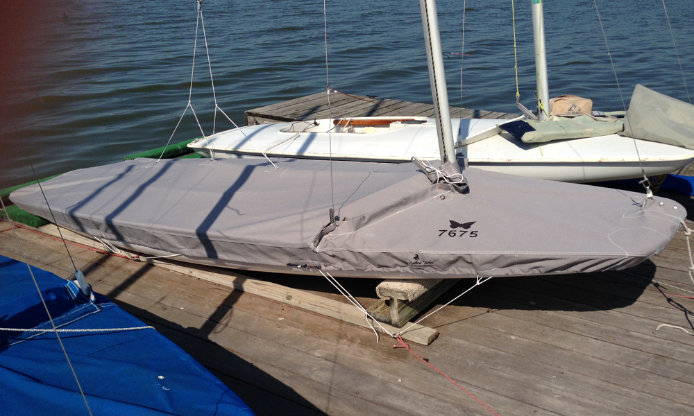 Butterly sailboat cover