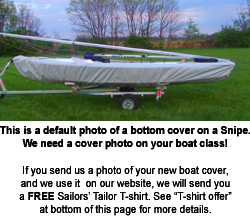 Force Five Sailboat Bottom Cover