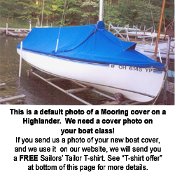 Ensign 22 (Pearson) Mooring Cover