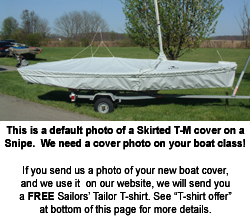 Woodpussy Skirted Trailing Mooring Cover