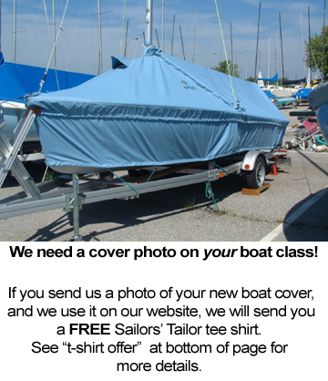 Daysailer Skirted Mooring Cover