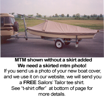 505 Skirted Mooring/Trailing Mooring Cover