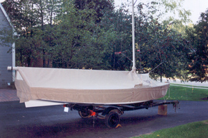 Comet Skirted Mooring Cover