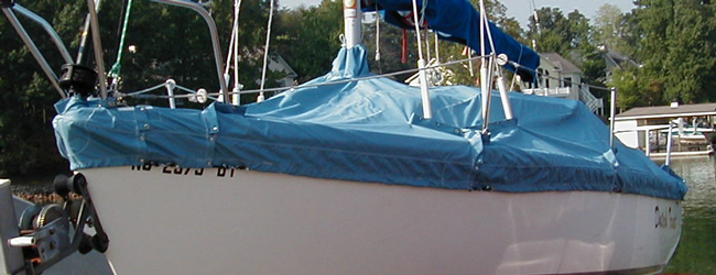 Catalina 22 Trailing/Mooring Cover
