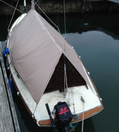 Cape Dory 19 Daysailor Cockpit Cover