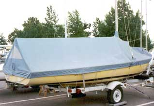 Flying Scot Mooring Cover