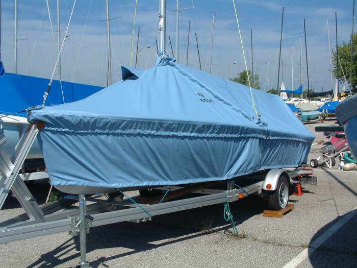 Flying Scot Skirted Mooring Cover