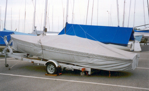 Flying Scot Skirted Trailing/Mooring Cover