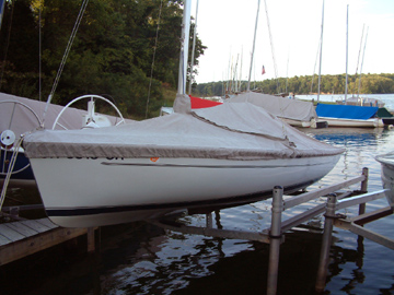 Flying Scot Trailing/Mooring Cover
