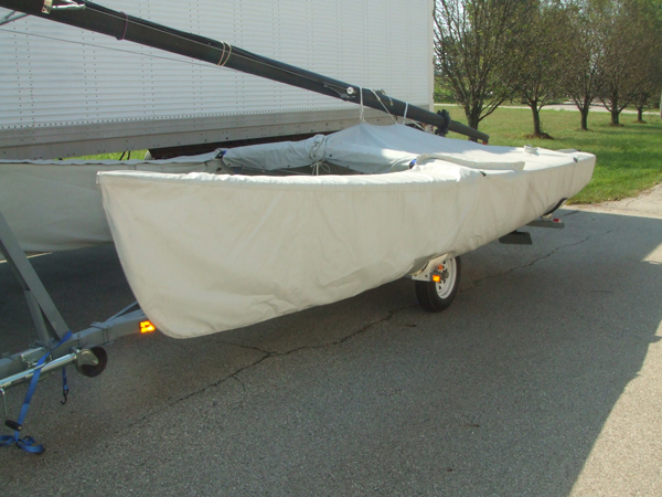 Hobie 18 Skirted Trailing Mooring Cover