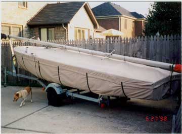 Highlander Skirted Trailing/Mooring Cover