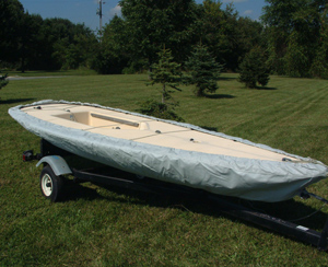 Laser Sailboat Bottom Cover