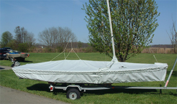 Snipe Skirted Trailing/Mooring Cover