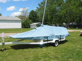 Y Flyer Skirted Mooring Cover