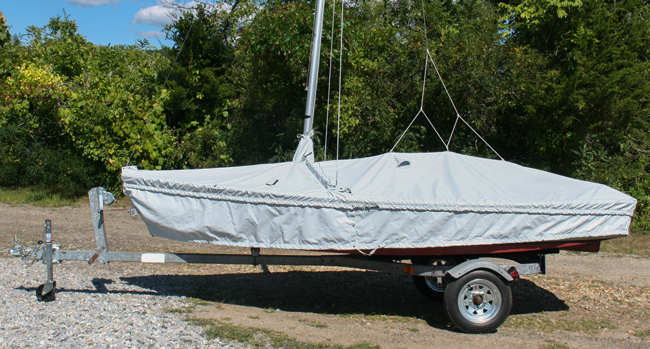 Bluejay Skirted Trailing Mooring Cover