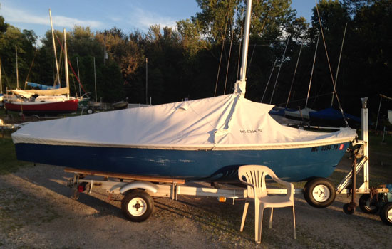 Caprice 15 Mooring-Trailing-Mooring Cover