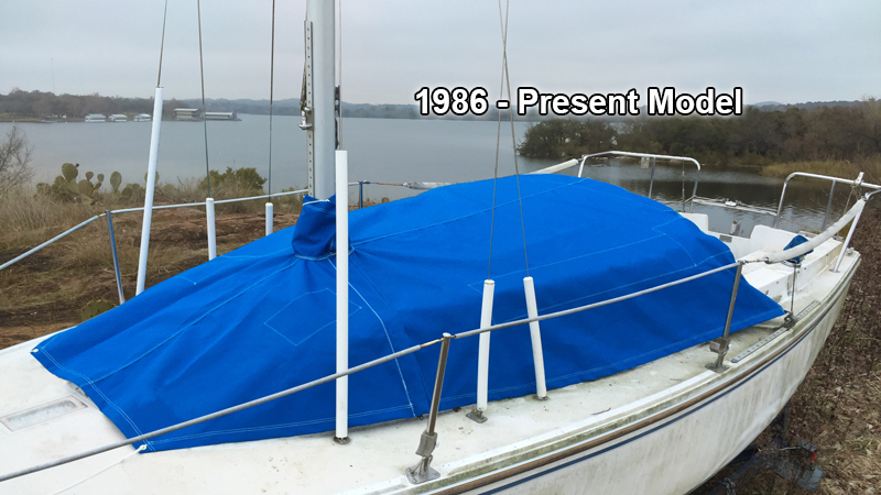 Catalina 22 Cabin Cover