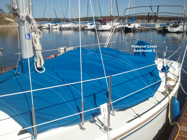 Catalina 27 Cabin Cover (Stretched Out)