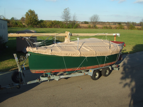 Drascombe Lugger Trailing Cover