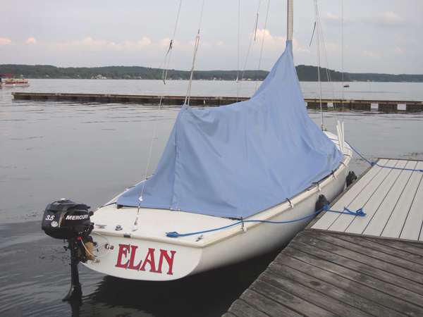 Ensign 22 (Pearson) Cockpit Cover/Sail Cover