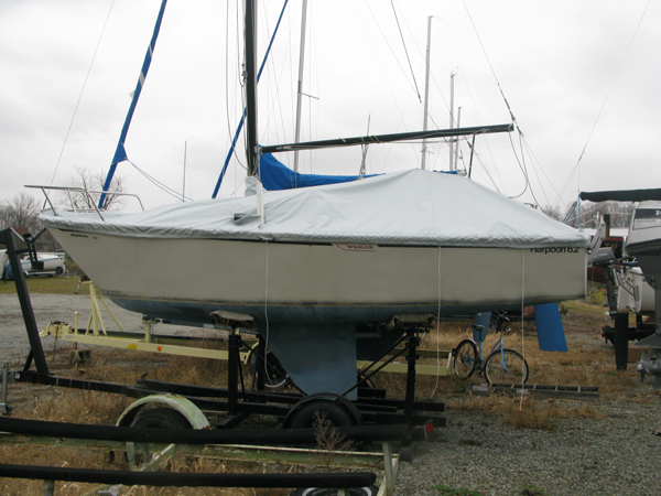 Harpoon 6.2 Trailing/Mooring Cover