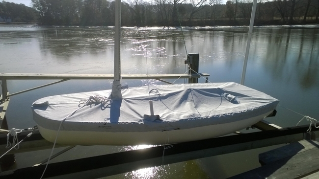 Mac Dinghy Trailing/Mooring Cover