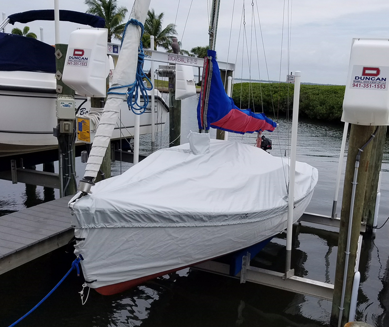 Mariner Skirted Trailing/Mooring Cover