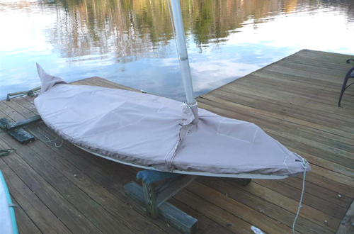 Mini Fish Mooring Cover