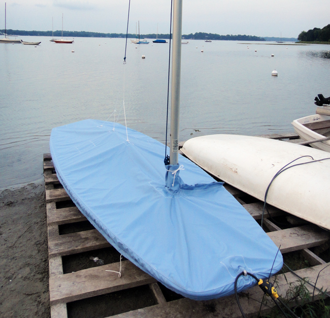 Mini Scow Trailing/Mooring Cover
