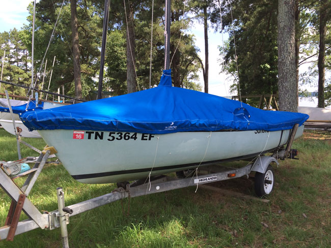 Sunbird Trailing/Mooring Cover (Cabin Top Version)