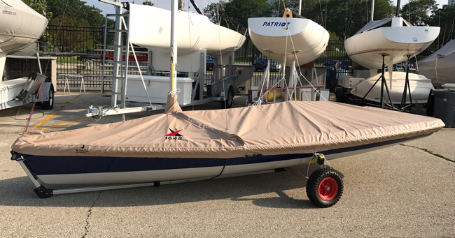 Vanguard 15 Trailing/Mooring Cover